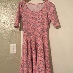 Lilly print lularoe dress Nicole
